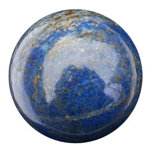 Lapis Lazuli Fortune Telling Crystal Ball Divination Sphere 52mm 230g (LB17)